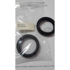 Fork oil seal for  DT 200 R 89- Υamaha  (one piece)